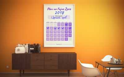 Nowy Kalendarz Celu na 2018 rok już dostępny! Bezpłatnie!